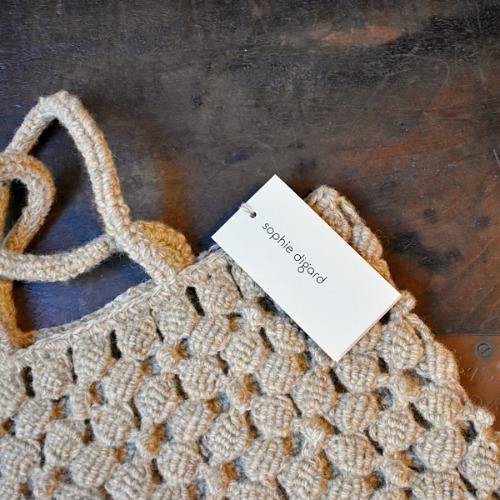 Sophie digard knit mini bag