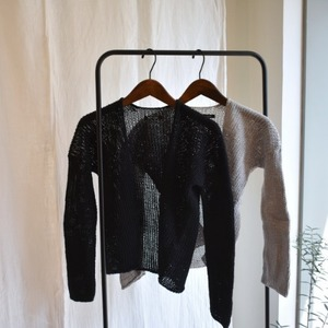 not lab orane cardigan
