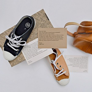 rosa mosa leather trainer row