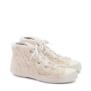 rosa mosa curly trainers high