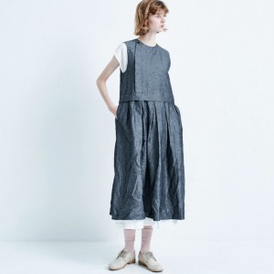 Veritecoeur wing button dress