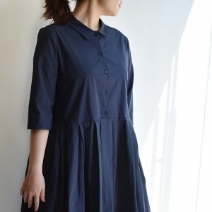 Apuntob navy dress