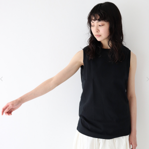 veritecoeur cutsew no sleeve T