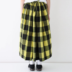 Veritecoeur  block check skirt