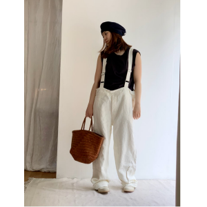 Veritecoeur heavy canvas  overall pants