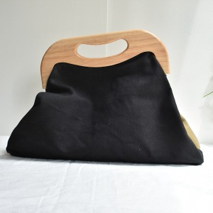 rosamosa wood frame bag