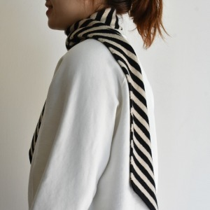 Jogordon diagonal stripe scarf