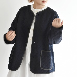 chimala unisex quilted knit jacket