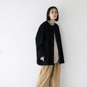 Veritecoeur wool coat