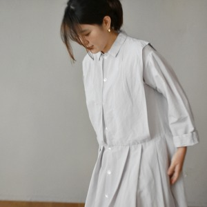 Veritecoeur linen silk dress