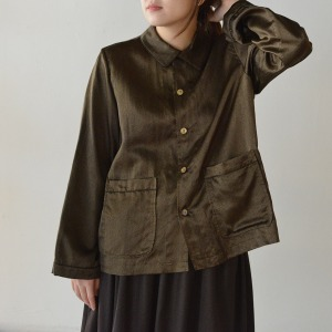 Veritecoeur satin  shirt