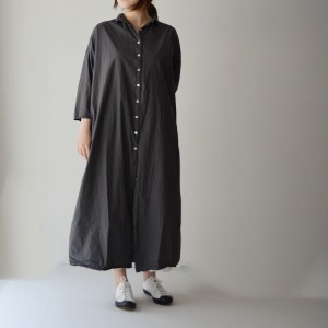 album long collar dress