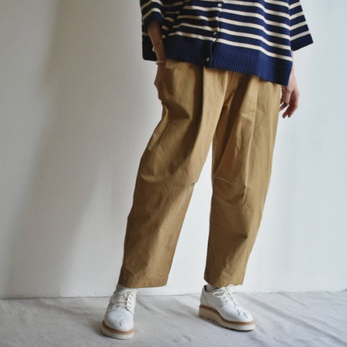 Front knotted belt pants