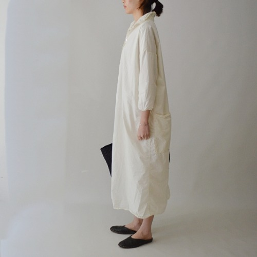 album long collar dress (재입고)