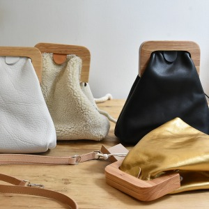 Rosamosa small leather bag
