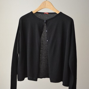 Apuntob cardigan black