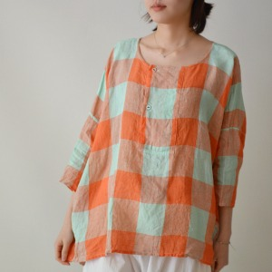 Veritecoeur  check shirt